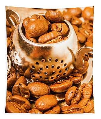 Beans The Little Teapot Tapestry