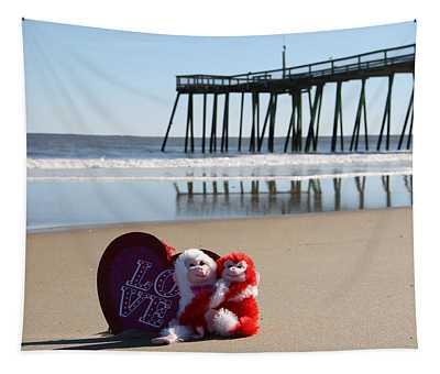 Bear Hugs And Beach Tapestry