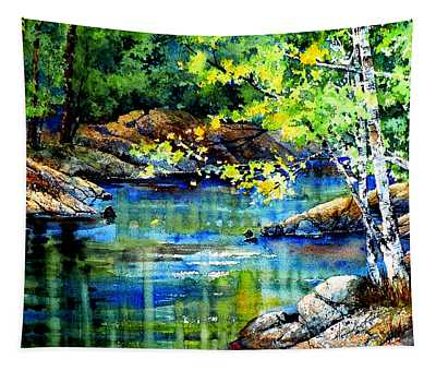 Bear Paw Stream Tapestry