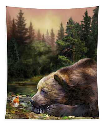 Bear's Eye View Tapestry