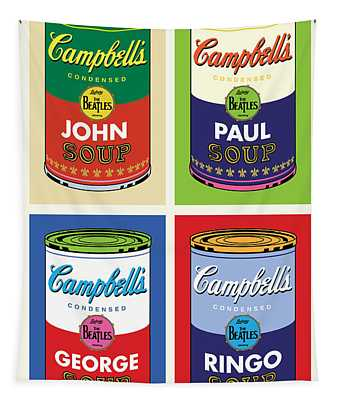 Beatles Soup Tapestry