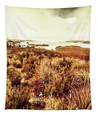 Beautiful Barren Outback Tapestry