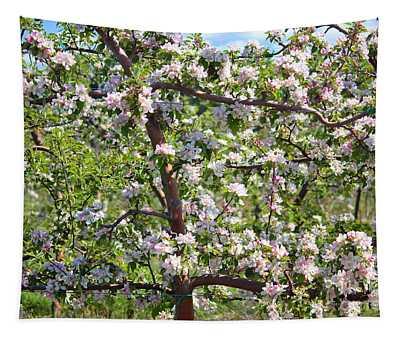 Beautiful Blossoms - Digital Art Tapestry