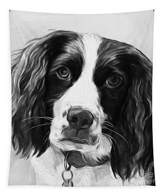 Beautiful Dog  Tapestry