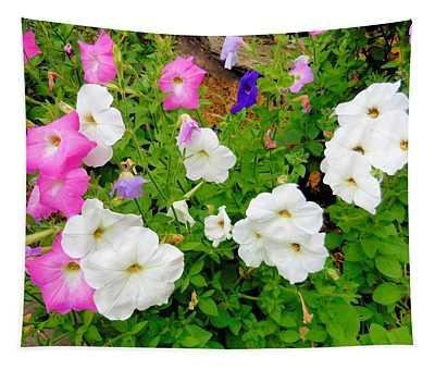 Beautiful Petunia Flower 5 Tapestry