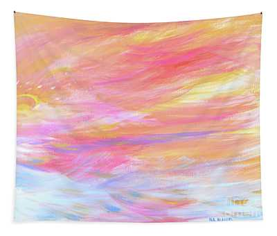 Beautiful Possibilities - Contemporary Art Tapestry