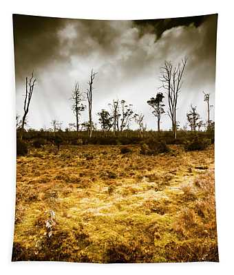 Beauty And Barren Bushland Tapestry