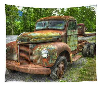 Beauty And The Best 1947 International Harvester Kb 5 Truck Tapestry