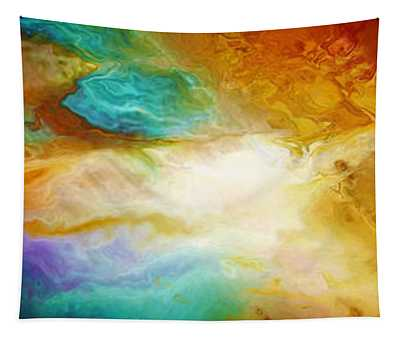 Becoming - Abstract Art Tapestry