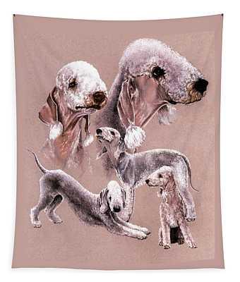 Bedlington Terrier Tapestry