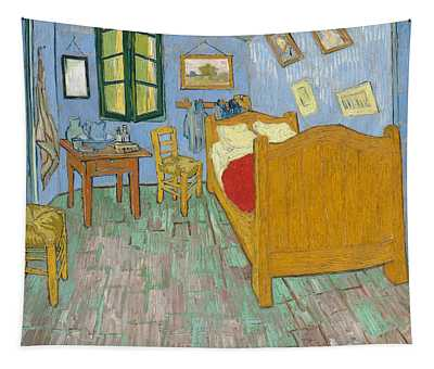 Tapestry featuring the painting Bedroom At Arles by Van Gogh