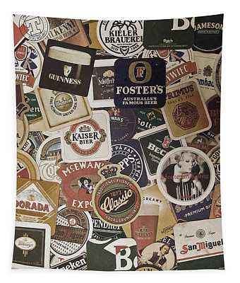 Beers Of The World Tapestry