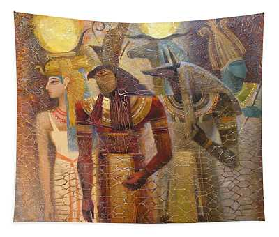 Beginnings. Gods Of Ancient Egypt Tapestry