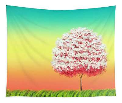 Beholden To The Skies Tapestry