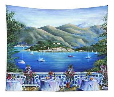Bellagio From The Cafe Tapestry