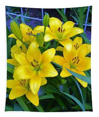 Bellingham Blooms Tapestry