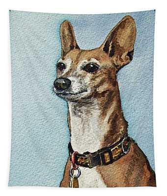 Beloved Dog Tapestry