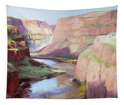 Below Palouse Falls Tapestry