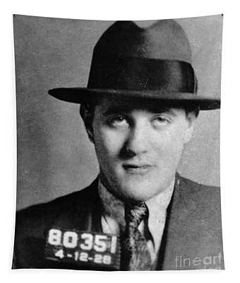 Tapestry featuring the photograph Benjamin Bugsy Siegel by Granger