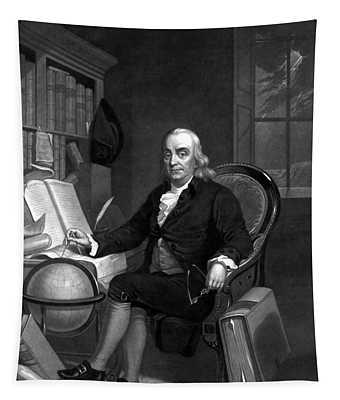 Benjamin Franklin -- The Scientist Tapestry