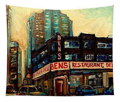 Bens Restaurant Deli Tapestry