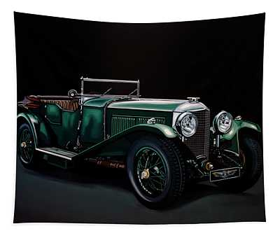 Bentley Open Tourer 1929 Painting Tapestry