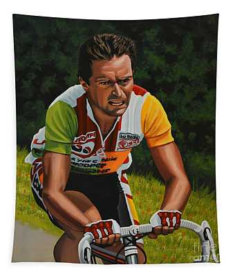 Bernard Hinault Tapestry