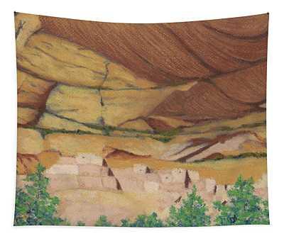 Betatakin Cliffdwellers Tapestry