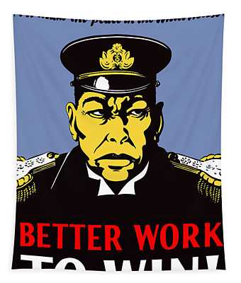 Better Work To Win - Ww2 Tapestry