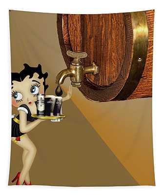 Betty Boop Serving Murphys Tapestry