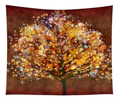 Starry Tree Tapestry