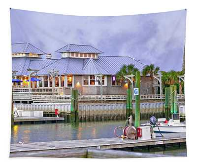 Bhi Marina Purple Hue Evening Tapestry