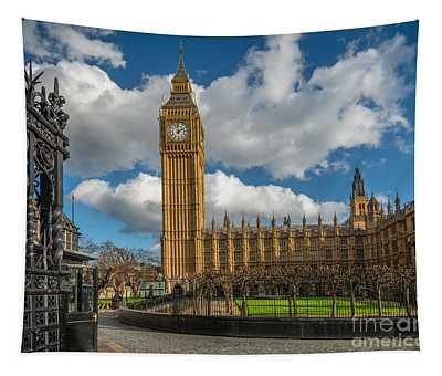 Big Ben London Tapestry