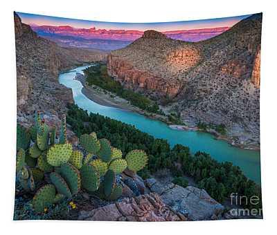Big Bend Evening Tapestry
