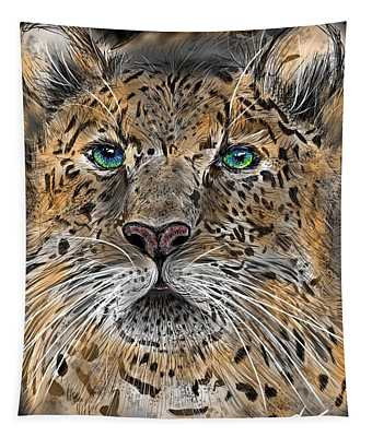 Big Cat Tapestry