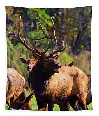 Big Elk Tapestry