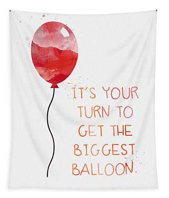 Biggest Balloon- Card Tapestry
