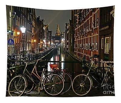 Amsterdam Bikes And Kolkswaterkering - Amsterdam Tapestry