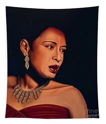Billie Holiday Tapestry