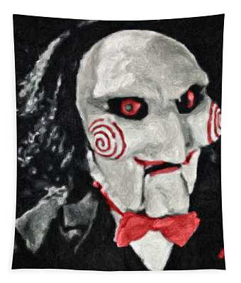 Billy The Puppet II Tapestry