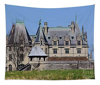 Biltmore House - Side View Tapestry