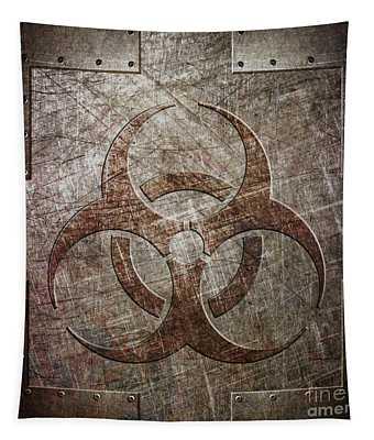 Bio Hazard Tapestry