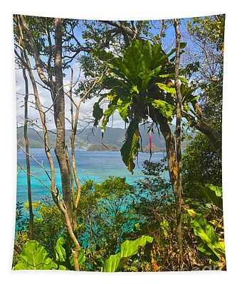 Bird Island Little Tobago  Tapestry