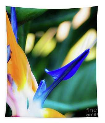 Bird Of Paradise Flower Tapestry