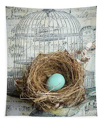 Birds Nest Tapestry