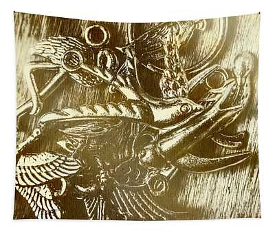 Birds Of Metal Tapestry