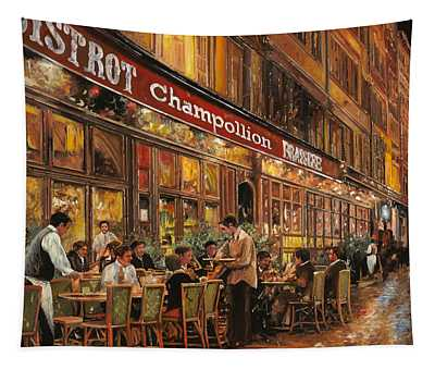 Bistrot Champollion Tapestry