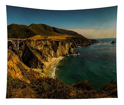 Bixby Bridge - Big Sur Tapestry