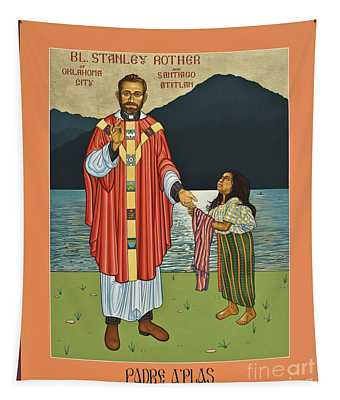 Bl. Stanley Rother - Lwsro Tapestry
