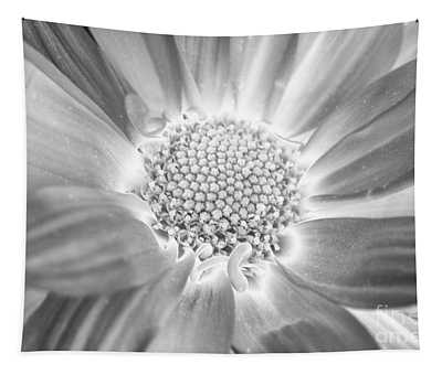 Black And White Daisy Tapestry